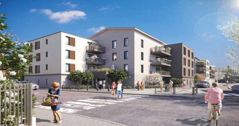 Achat / Vente appartement neuf Vaulx-en-Velin quartier Le Village (69120) - Réf. 3364