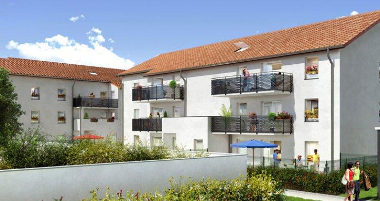 Achat / Vente appartement neuf Vaulx-en-Velin Village proche centre-ville (69120) - Réf. 659