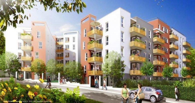 Achat / Vente appartement neuf Vénissieux 200 mètres tramway (69200) - Réf. 1824