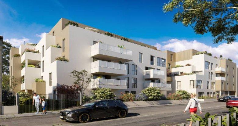Achat / Vente appartement neuf Vénissieux à 400m du nouveau Tram T6 (69200) - Réf. 5626