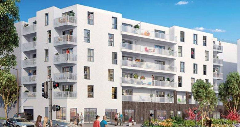 Achat / Vente appartement neuf Vénissieux proche arrêt de Tramway Croizat-Paul Bert (69200) - Réf. 1104
