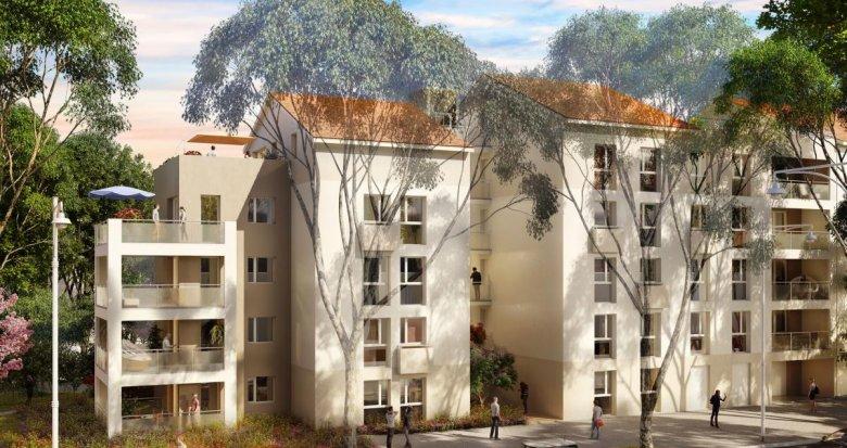 Achat / Vente appartement neuf Vénissieux proche de l'arrêt de métro Parilly (69200) - Réf. 2323