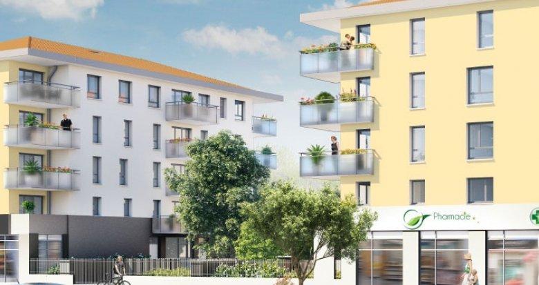 Achat / Vente appartement neuf Vénissieux proche établissements scolaires (69200) - Réf. 793