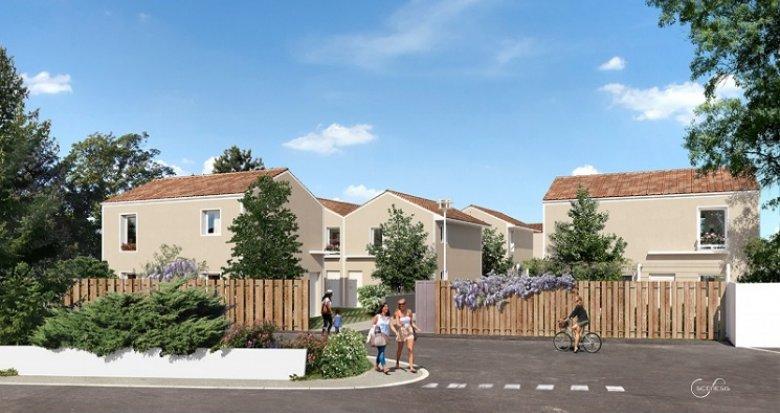 Achat / Vente appartement neuf Vénissieux proche parc de Parilly (69200) - Réf. 1770