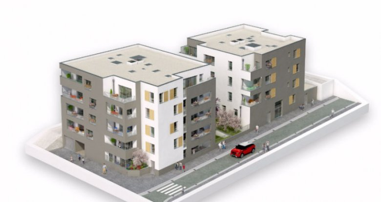 Achat / Vente appartement neuf Vénissieux proche parc Louis (69200) - Réf. 1549