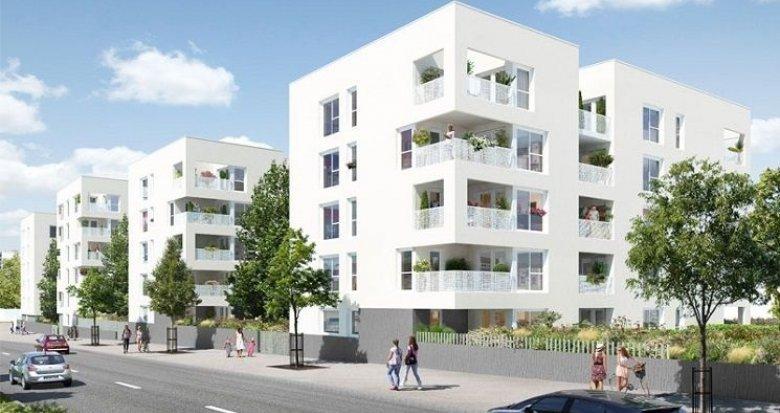 Achat / Vente appartement neuf Vénissieux proche parc Louis Dupic (69200) - Réf. 763