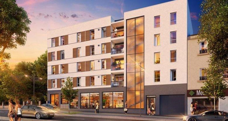 Achat / Vente appartement neuf Vénissieux proche tramway (69200) - Réf. 1489
