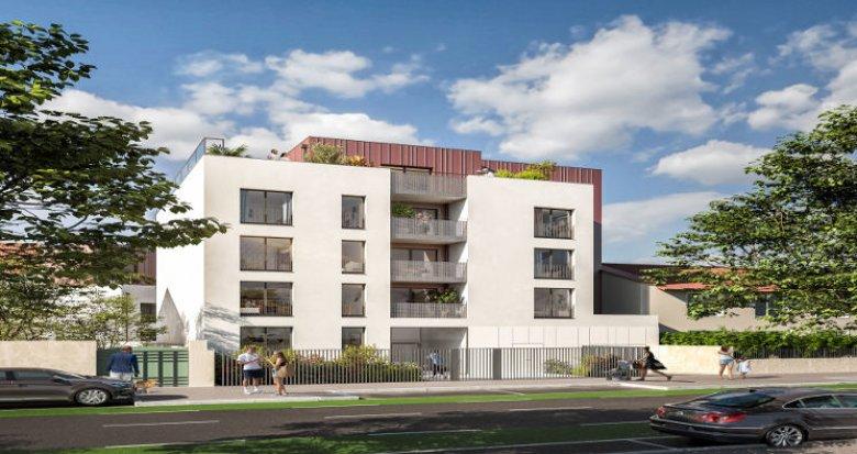 Achat / Vente appartement neuf Vénissieux proche tramway T6 (69200) - Réf. 5981