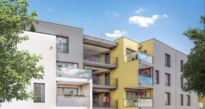 Achat / Vente appartement neuf Vénissieux quartier résidentiel proche Village (69200) - Réf. 1338