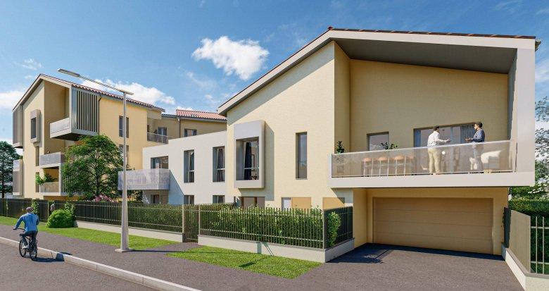 Achat / Vente appartement neuf Villefranche-sur-Saône à 15min à pied de la gare (69400) - Réf. 6172