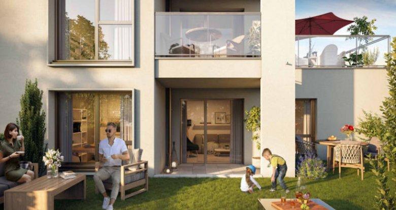 Achat / Vente appartement neuf Villefranche-sur-Saône à 20 min de Lyon (69400) - Réf. 4994