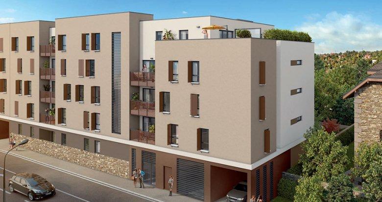 Achat / Vente appartement neuf Villefranche-sur-Saône à deux pas du centre (69400) - Réf. 1092
