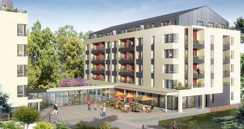 Achat / Vente appartement neuf Villefranche sur Saône résidence séniors (69400) - Réf. 1145