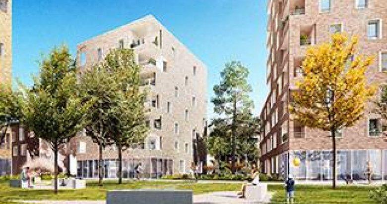 Achat / Vente appartement neuf Villeurbanne à 1 minute du métro (69100) - Réf. 3927