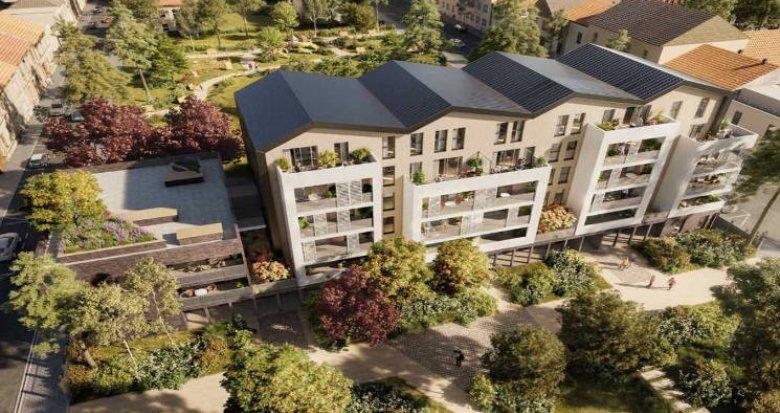 Achat / Vente appartement neuf Villeurbanne à 290m du métro République (69100) - Réf. 5080