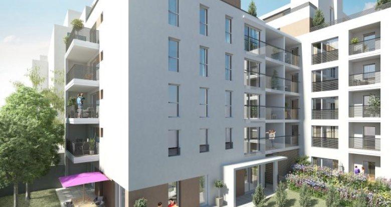 Achat / Vente appartement neuf Villeurbanne à 5 minutes de la Place Grandclément (69100) - Réf. 351