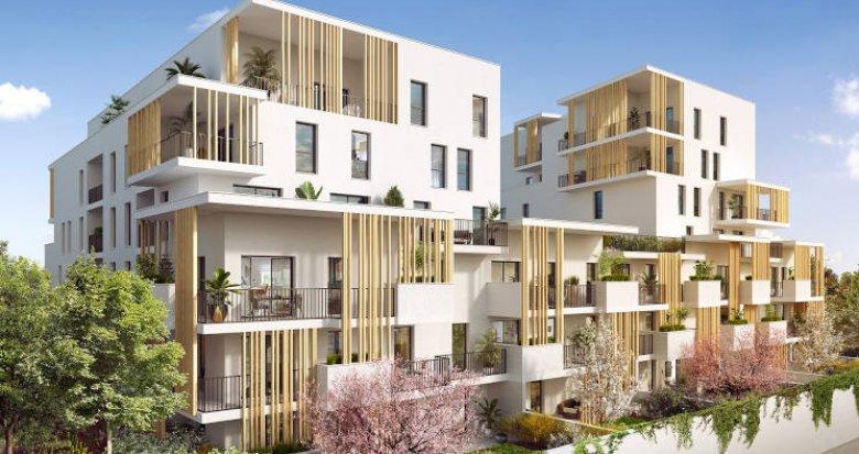 Achat / Vente appartement neuf Villeurbanne à 500 mètres du métro (69100) - Réf. 4759