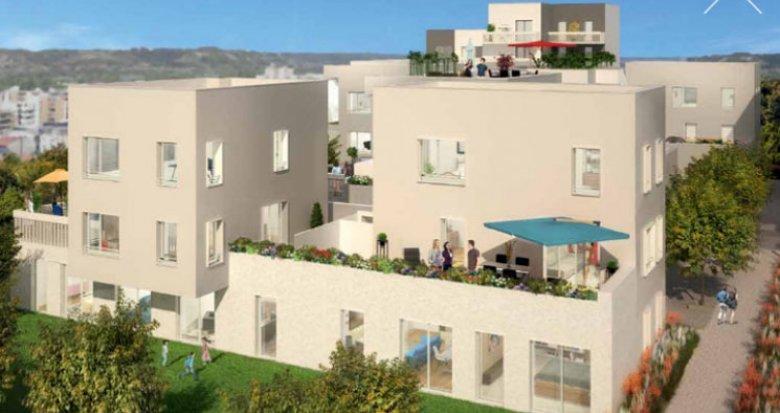 Achat / Vente appartement neuf Villeurbanne à 500 mètres du Métro République (69100) - Réf. 3205