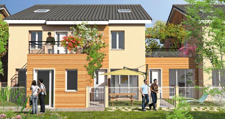 Achat / Vente appartement neuf Villeurbanne à deux pas du Campus de La Doua (69100) - Réf. 1066