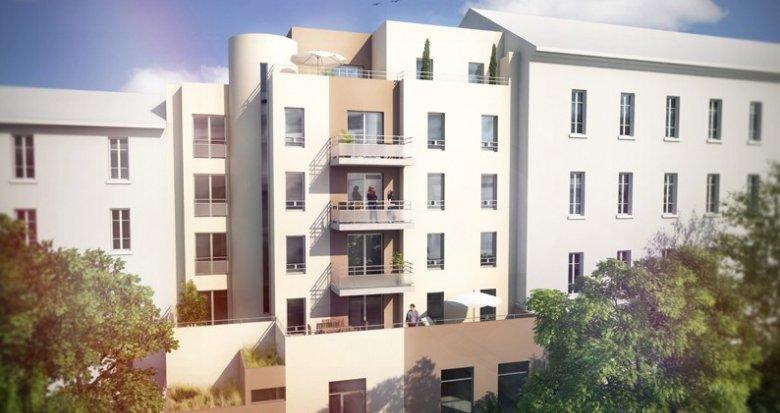 Achat / Vente appartement neuf Villeurbanne à moins de 100m du Métro Flachet (69100) - Réf. 682