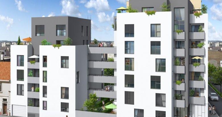 Achat / Vente appartement neuf Villeurbanne, arrêt de Tramway Condorcet (69100) - Réf. 350