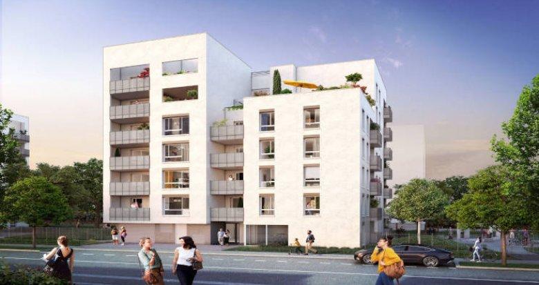 Achat / Vente appartement neuf Villeurbanne au coeur du quartier Carré de Soie (69100) - Réf. 4029