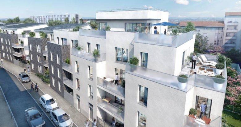Achat / Vente appartement neuf Villeurbanne au coeur du quartier Grand Clément (69100) - Réf. 3904