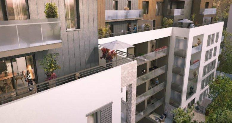 Achat / Vente appartement neuf Villeurbanne au pied des transports (69100) - Réf. 4495