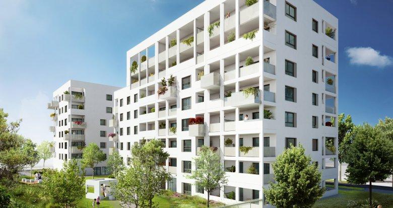 Achat / Vente appartement neuf Villeurbanne Carré de Soie (69100) - Réf. 2452