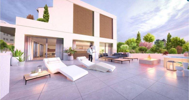 Achat / Vente appartement neuf Villeurbanne cœur quartier de Ferrandière (69100) - Réf. 4512