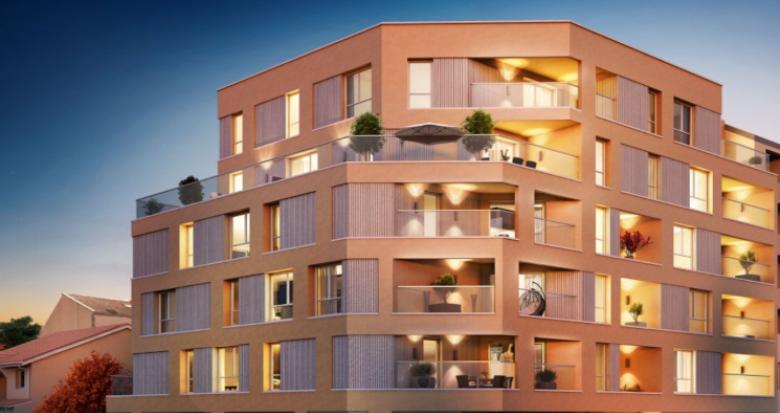 Achat / Vente appartement neuf Villeurbanne Croix Luzet (69100) - Réf. 5313