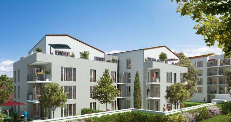 Achat / Vente appartement neuf Villeurbanne lisière Montchat (69100) - Réf. 1373