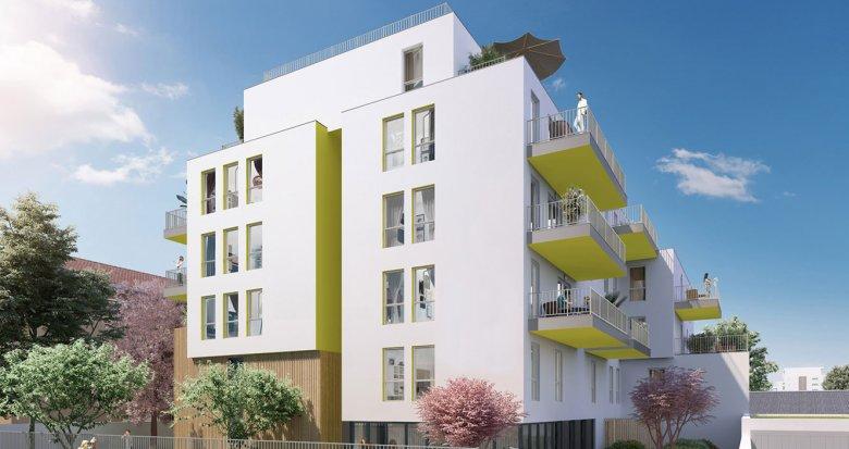 Achat / Vente appartement neuf Villeurbanne proche arrêt Flachet (69100) - Réf. 2236