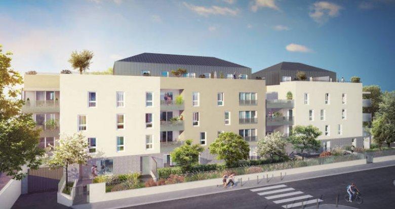 Achat / Vente appartement neuf Villeurbanne proche campus de la Doua (69100) - Réf. 3509