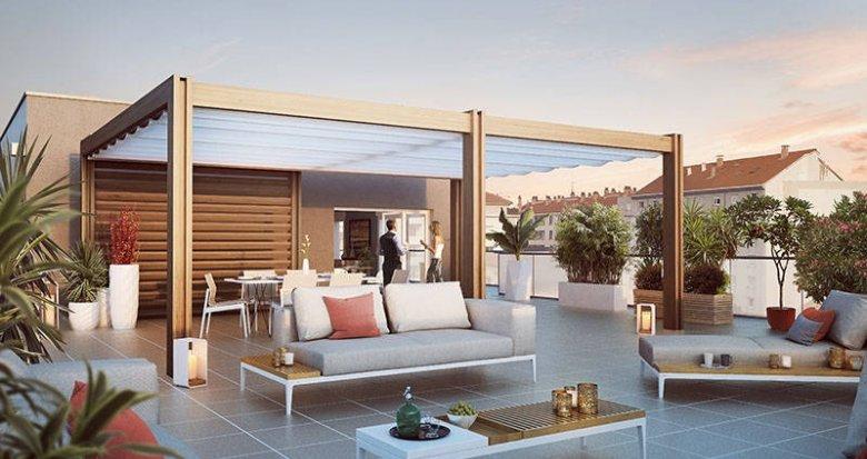 Achat / Vente appartement neuf Villeurbanne proche Campus de La Doua (69100) - Réf. 2551