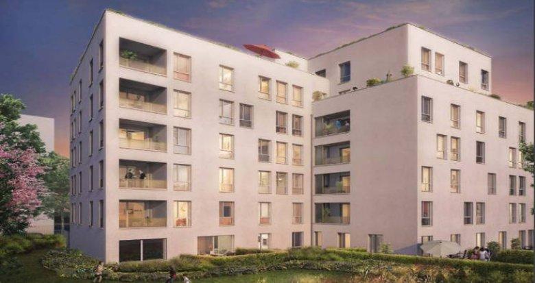 Achat / Vente appartement neuf Villeurbanne proche centre hospitalier Médipôle (69100) - Réf. 3902