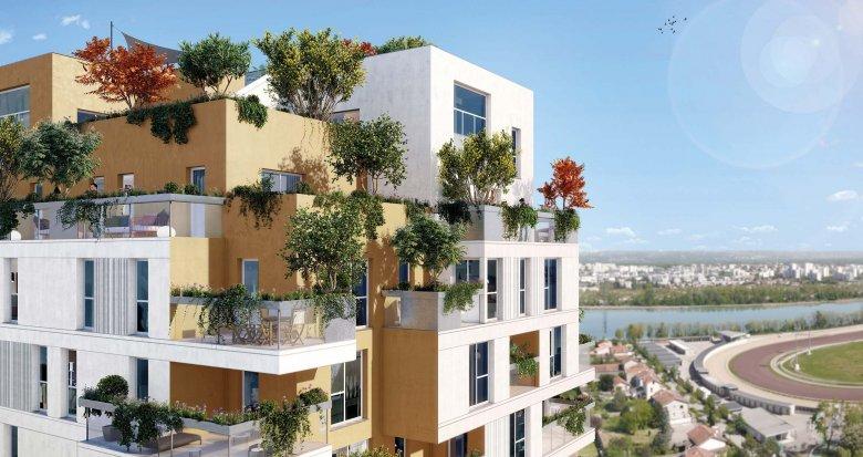 Achat / Vente appartement neuf Villeurbanne proche commerces et transports (69100) - Réf. 1936