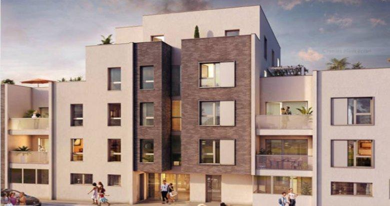 Achat / Vente appartement neuf Villeurbanne proche Cours Emile Zola (69100) - Réf. 2786