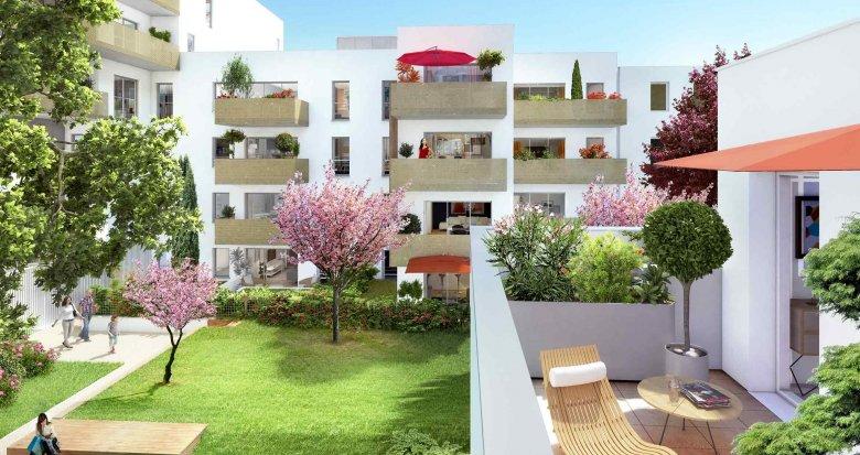Achat / Vente appartement neuf Villeurbanne proche cours Emile Zola (69100) - Réf. 1472