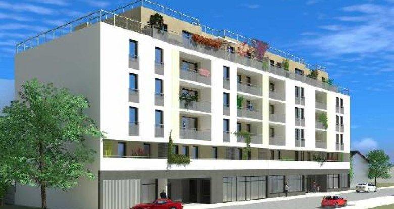 Achat / Vente appartement neuf Villeurbanne proche de Carré de Soie (69100) - Réf. 2587
