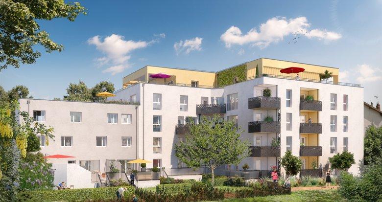 Achat / Vente appartement neuf Villeurbanne proche de l'arrêt Flachet (69100) - Réf. 2474