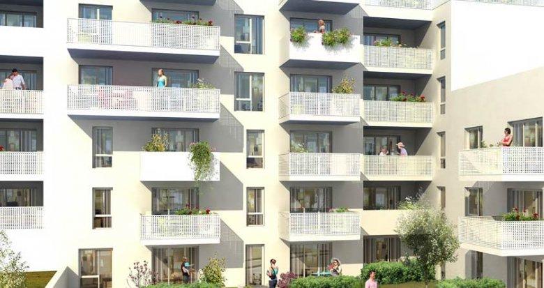 Achat / Vente appartement neuf Villeurbanne proche de Montchat (69100) - Réf. 1804