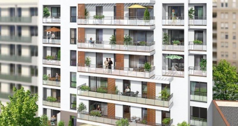 Achat / Vente appartement neuf Villeurbanne proche des transport en commun (69100) - Réf. 1148