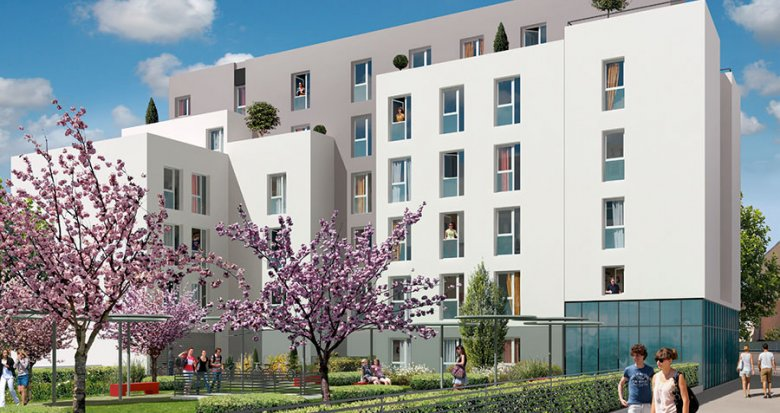 Achat / Vente appartement neuf Villeurbanne proche du Campus de la Doua (69100) - Réf. 2060