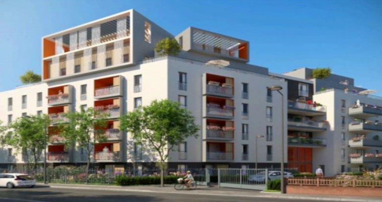 Achat / Vente appartement neuf Villeurbanne proche école Château Gaillard (69100) - Réf. 3659