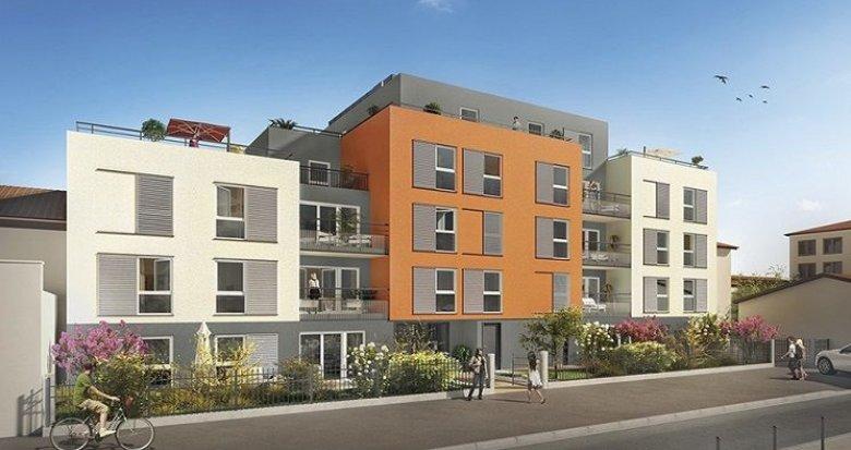 Achat / Vente appartement neuf Villeurbanne proche Ferrandière - Maisons Neuves (69100) - Réf. 612