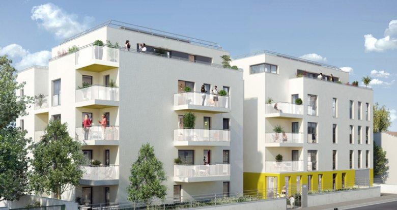 Achat / Vente appartement neuf Villeurbanne proche future ZAC nord (69100) - Réf. 143
