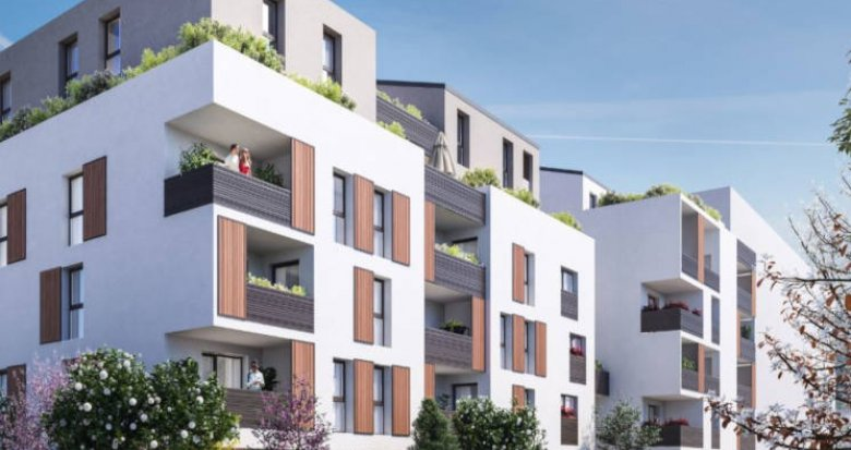 Achat / Vente appartement neuf Villeurbanne proche Gratte-Ciel (69100) - Réf. 3347