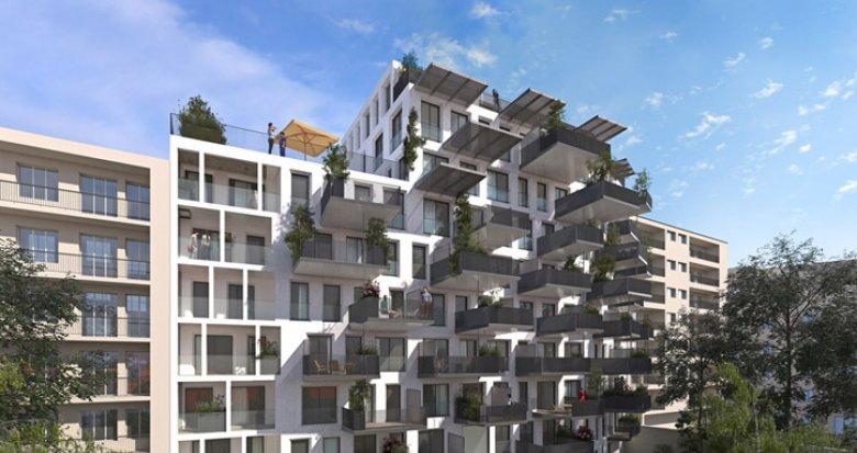Achat / Vente appartement neuf Villeurbanne proche Gratte-Ciel (69100) - Réf. 689