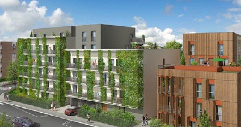 Achat / Vente appartement neuf Villeurbanne proche Gratte-ciel et parc Feyssine (69100) - Réf. 2373